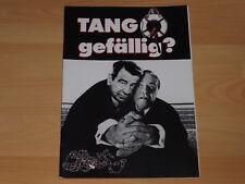 TANGO GEFÄLLIG - Presseheft ´98 - JACK LEMMON Walter Matthau