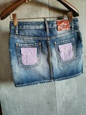 NEW Dsquared2 skirt jeans 38 made in Italy