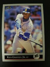 32b3eb33fe 1992 Leaf Ken Griffey Jr. Seattle Mariners Card #392