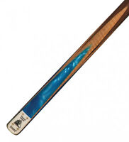 Powerglide Professional Diamond Blue 2 Piece Ash & Rosewood Cue & Soft Case