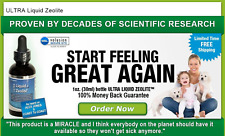 1 - 1oz VIRAL LOAD REDUCED BY LIQUID ZEOLITE 10x stronger than powder