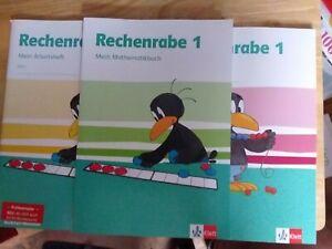 3 Schulbücher Rechenrabe 1