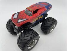 Monster Jam SPIDER-MAN Toy Monster Truck Hot Wheels 1:64 #MJ4
