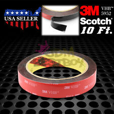 Genuine 3M VHB #5952 Double-Sided Mounting Foam Tape Automotive Car 20mm x 10FT