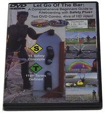 Let Go of the Bar- Kiteboarding/Kitesurfing Instructional Video, 3 Dvd set