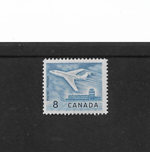 1963-64 CANADA JET at OTTAWA AIRPORT - SINGLE STAMP - MINT AND UNHINGED.