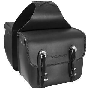 Borse Laterale Rigida Sotto Sella Custom Borsoni Saddle bag Nero
