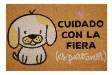 FELPUDO CUIDADO CON LA FIERA. ¡¡ENTREGA 24/48 HORAS!!