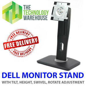 Dell Monitor Stand for Dell Monitors Height Swivel Rotate Tilt Adjustment U2412H