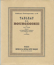 RARE EO N° 1929 MAX JACOB + 10 LITHOGRAPHIES & DESSINS TABLEAU DE LA BOURGEOISIE