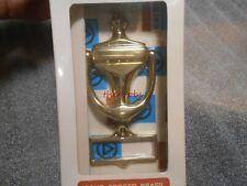 Baldwin Colonial Brass Door Knocker W/ Name Slot New in Package