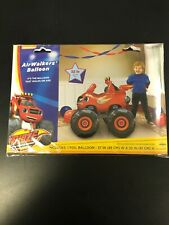 "Blaze & The Monster Machines 37"" Jumbo Airwalker Foil Balloon Party Supplies"