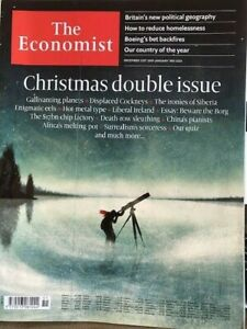 MAGAZINE THE ECONOMIST N°51 CHRISTMAS DOUBLE ISSUE - DEC 21st 2019-jan 3rd 2020