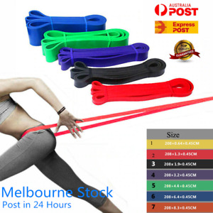 HEAVY DUTY RESISTANCE BANDS LOOP POWER GYM FITNESS EXERCISE YOGA WORKOUT