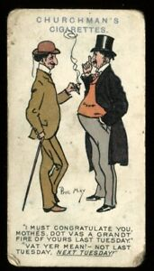 Tobacco Card, Churchman, PHIL MAY SKETCHES, 1912, #39