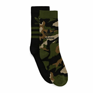 Adidas Originals Camo Crew Sock Socks Sports - Wildpine All Sizes