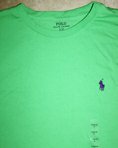 RALPH LAUREN T-Shirt NEW WITH TAGS size L green