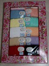 NWT Plus Women's Briefs 12 Pair Size 11 100% Cotton Pretty Colors Underwear 4 X