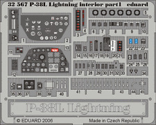 EDUARD 32567 Interior for Trumpeter® Kit P-38L in 1:32