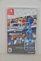 NEW Switch Rockman NS Mega Man Megaman Legacy Collection 1 + 2 (US) + CLOTH