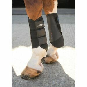 Shires Arma Brushing Boots - Black or Brown - Cob,Full or X/Full
