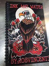 Tattoo Flash Book Tattoo Design Sailor Jerry Watercolor Art Sketchbook