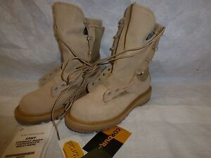 Rocky GORE-TEX Temperate COLD/WET BOOTS 5 R New Tan Combat 790G #102