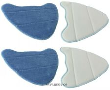 HOLME HDSM4001 ADSM4001 Steam Cleaner Mop Pads Hard Floor Cleaning Pad Cover x 4