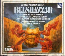 Handel:Belshazzar / Pinnock, English Concert, Augér, Johnson, Bowman - CD