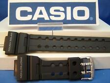 Casio Watch Band GWF-1000,GF-1000 G-Shock Frogman black Strap Silver Tn buckle