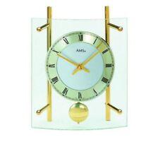 Orologi da tavolo analogico con pendolo in vetro