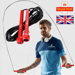 Skipping Rope - Jumping Speed Boxing Exercise Fitness Adult Weight loss Rope UK