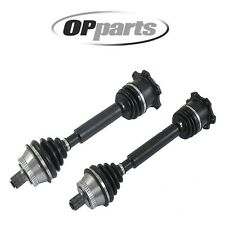 For Audi A4 S4 VW Passat Set of 2 Front CV Axle Shafts Opparts 40754067 40754066