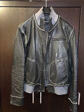 EMPORIO ARMANI Leather Jaket Mens