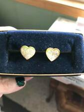 Montana Silversmith Vintage Heart post back earrings