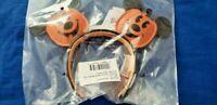 Disney Parks Halloween 2020 Mickey Mouse Jack 'O Lantern Ear Headband Pumpkin