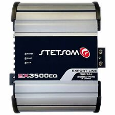 Stetsom EX 3500 2 Ohms Amplifier EX3500 3.5K Watts Car Audio Amp 3-Day Delivery