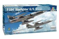 Italeri Lockheed Martin F-104 Starfighter G/S RF Version 1:32 Bausatz 2514 Jet