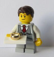 Lego Minifigure Pageboy Ringbearer Ring Bearer Grey Suit    Wedding Bride Groom