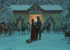 General Stonewall Jackson & Wife Winchester Virginia Military Civil War Postcard