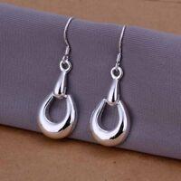 Asamo Ladies Earrings 925 Sterling Silver Plated Earrings O1250