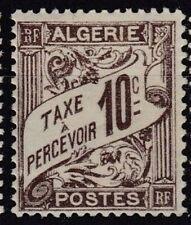 ALGERIE Taxe 2  - Neuf*  charniere
