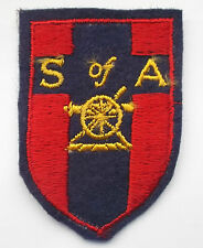 school of artillery BAOR   cloth formation sign  military unit  patch