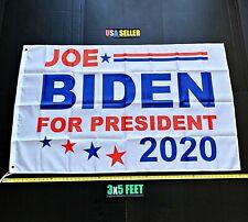 New listing Joe Biden 2020 Flag Free First Class Ship White Circle Stars Sign Usa One Sided