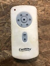 Casablanca Ceiling Fan DC 6-Speed Replacement Remote Control Transmitter RH787T