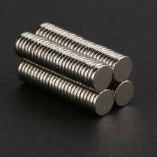 100 Pcs Super Strong Round Disc 5x1mm Magnet steel sheets Rares Earth Neodymium