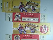 REPLIQUE BOITE MINIALUXE MOTO DE COURSE 1959