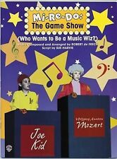 Mi-Re-Do -- The Game Show (Who Wants to Be a Music Wiz?): Teacher's Book with Re