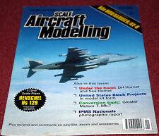 Scale Aircraft Modelling 18.11 Harrier,AV-8,DH Hornet,HS129,Meteor