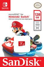 SanDisk 128GB micro SD XC Card MicroSDXC Flash Memory Nintendo Switch 128 GB